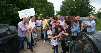 Armata le-a închis drumul focșănenilor de pe Calea Munteniei